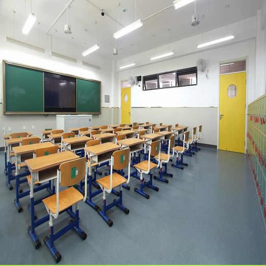 学校PVC地板案例