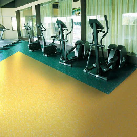 健身房PVC地板案例