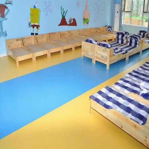 幼儿园PVC地胶案例