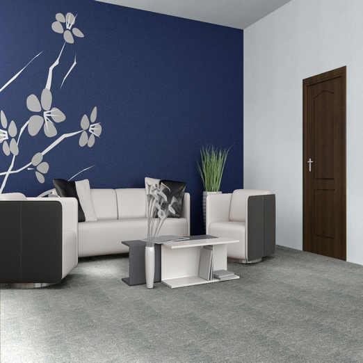 石塑片材地毯纹地板-2.6mm