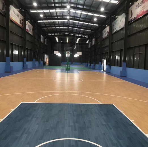 运动地板厂家推荐-篮球场地运动塑胶地板